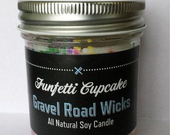 Funfetti Cupcake Soy Candle