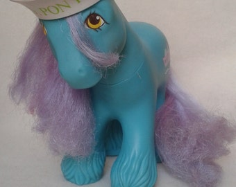 G1 My Little Pony Salty WITH HAT (1987) MLP