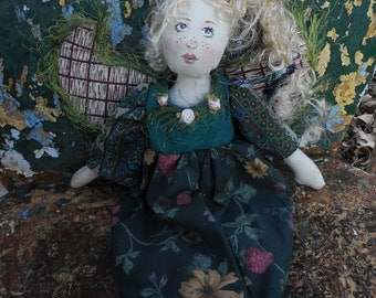 Country Garden Angel Cloth Doll