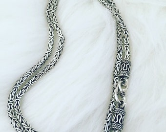 Men Sterling silver chain