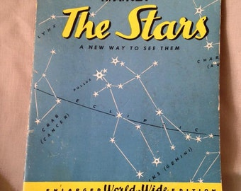 The Stars A new way of looking at them vintage book