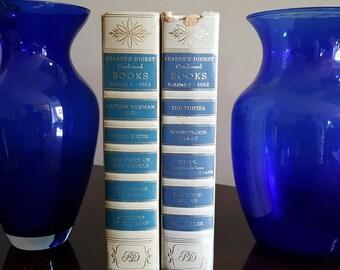 Vintage Blue 1960's Reader's  Digest Condensed Books