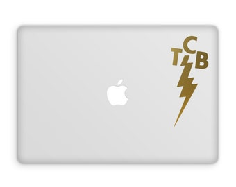 Elvis TCB Decal, Elvis TCB, Taking Care of Business, Vinyl Decal, Elvis Decal, tcb Vinyl Decal