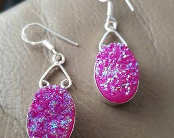 Druzy Earrings!