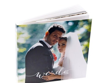 Personalized Wedding Album.8X8 inches . 20X20 centimeters. 40 pages.Wedding Photo Album.