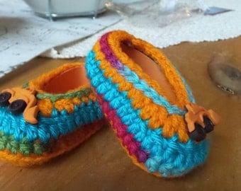 Boy shoes 3-6mths