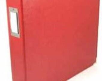 Red 6x6 Album
