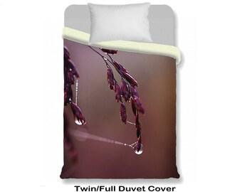 Rain Duvet Cover Etsy