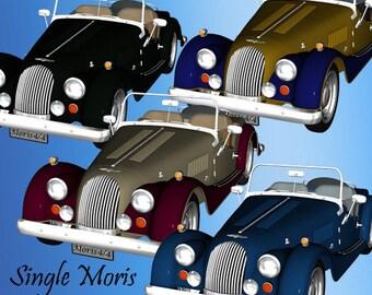 Moris Cars Graphics Set