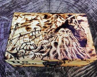 Davy Jones Box - Pirates of the Caribbean