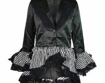 Gothic Victorian Steam punk jacket