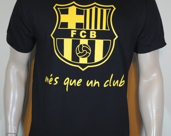FC Barcelona Mens T shirt Mes Que Un Club Tee