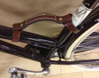 Leather Bike Handle