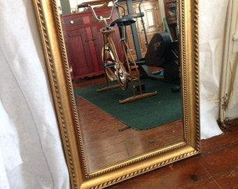 Beveled Glass Mirror