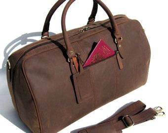 Camden LeatherWorks Cabin Bag