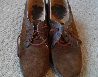 hush puppy suede shoes