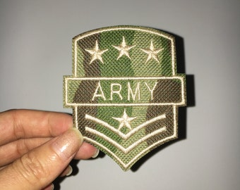 army patch embroidered patch embroidery patch iron on patch sew on patch