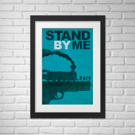 Stand By Me Movie Poster - Illustration [Stand By Me Movie Poster / Stand By Me]