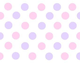 full page polka dot label