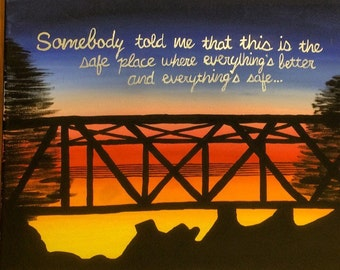 One Tree Hill Canvas