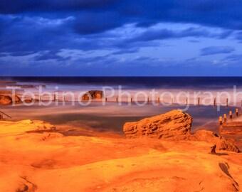Mahon Pool Maroubra Australia Photography Print Canvas Art