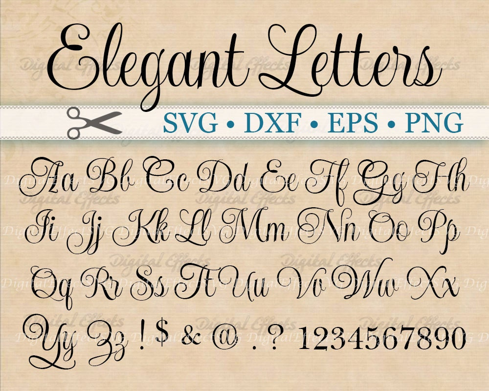 Fancy Cursive Writing Styles