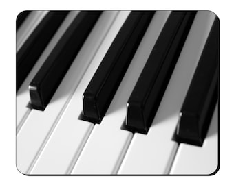 Mouse Mat - Piano Keyboard - Musical Instrument Mouse Pad MI112