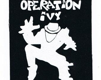 Operation Ivy Punk Patch