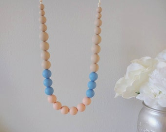 Silicone Teething Necklace Micaela - Choose Color