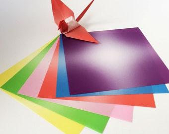 Origami Paper Sheets -Gradation Design - 48 Sheets