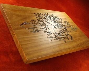 Wooden cutting board, Wedding cutting board, Custom cutting board, Housewarming Gift, Wedding Gift for couple, Wedding Gift