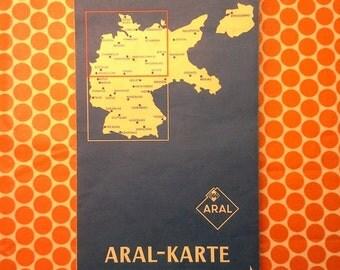 German Road Map Aral-Karte