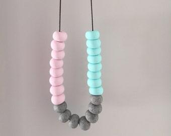 Pastel Rock necklace