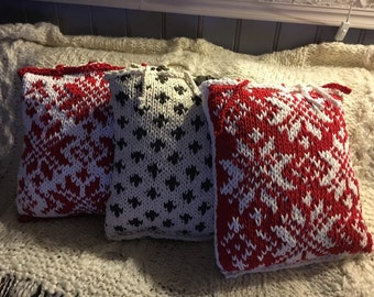 Classic Norwegan Style Pillow Cover