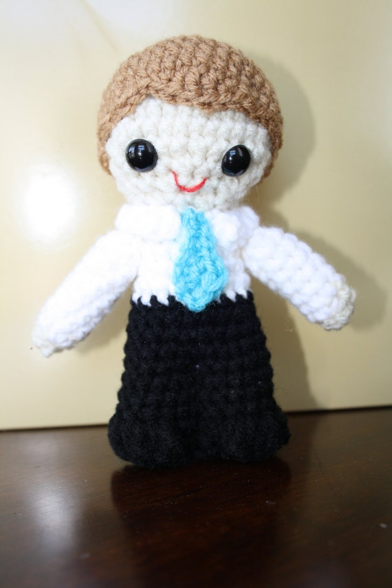 Amigurumi Hair Boy : Baptism Boy Amigurumi Crochet Doll