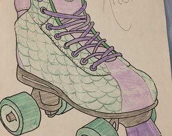 Ariel Derby/Roller Skates