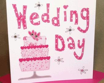 Wedding Card  (jewelled)