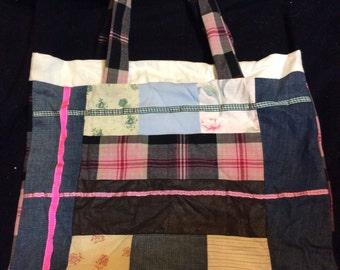 Scotland - Handmade tote bag Autumn - Winter collection