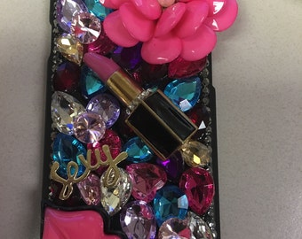 Lipstick flower iPhone 6/6s  case
