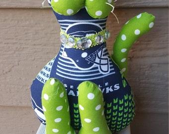 Seattle Seahawks Football Cat