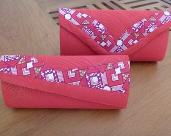 Pocket wax bazin handmade