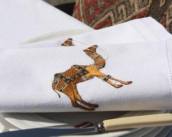Camel napkin