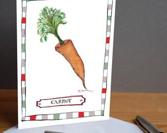 carrot -  fun greeting card