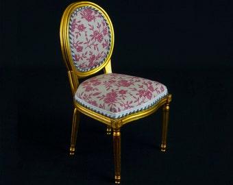 Louis XVI Chair miniature 1:6
