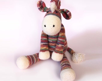 Zac the Zebra Crochet Pattern PDF