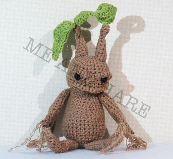Amigurumi Mandrake : Mandrake Crochet Amigurumi Harry Potter