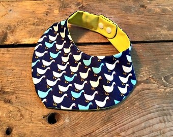 bib patterned duck for toddlers