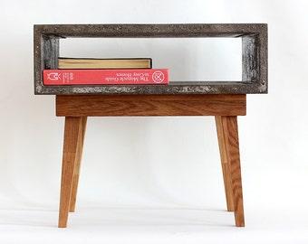Modern Concrete Bedside Table