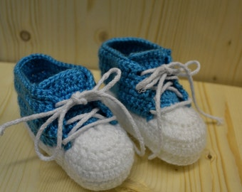 Crochet Converse Shoes