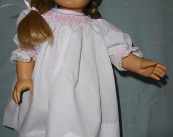 Hand Smocked Doll Dress